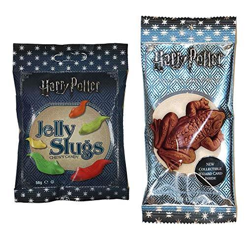 Jelly Belly Harry Potter - Boîte de Chocogrenouille (15 g) et Limaces (59 g)