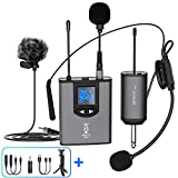 Best Wireless Microphones - UHF Wireless Microphone System Headset Mic/Stand Mic/Lavalier Lapel Review