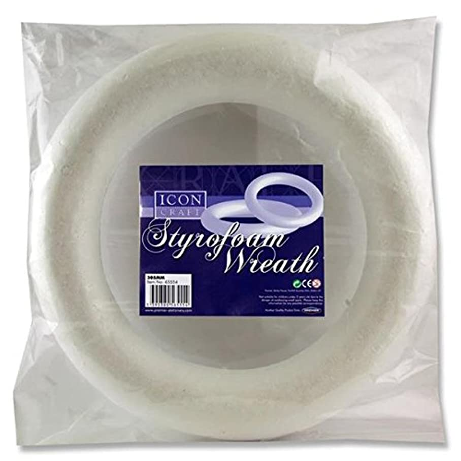 Premier Stationery Icon Craft Styrofoam Wreath with Rounded Back d418904605