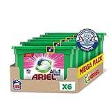 Ariel Allin1 Pods Sensaciones - Detergente en cápsulas para la lavadora que deja un agradable aroma en tu ropa todo el día, 108 lavados (6 x 18)