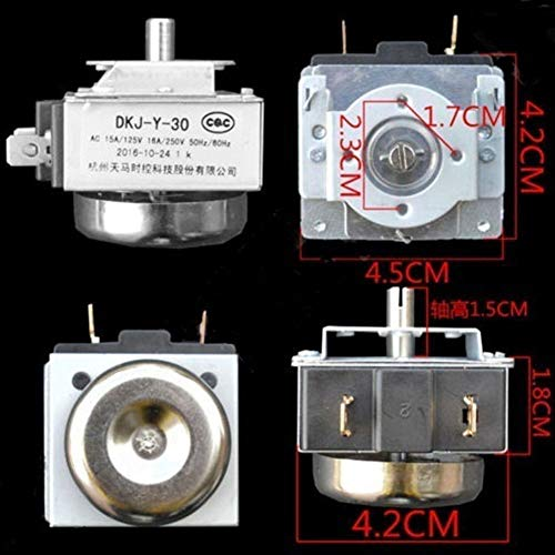 RONSHIN Top Delay Timer Switch with Bell for Electronic Microwave Oven Cooker DKJ-Y30 60 90 120 Minutes 30 Minutes