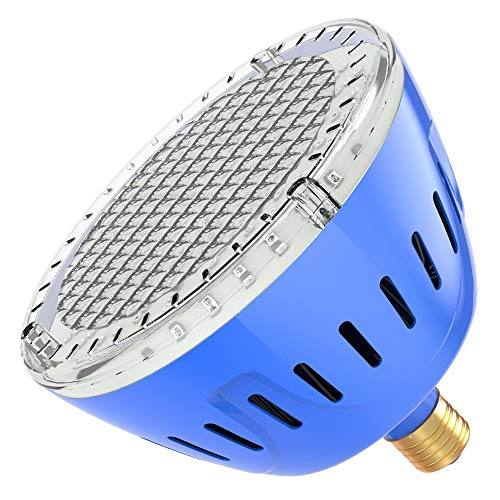 LAMPAOUS LED Pool Lights Bulb, RGB Muliti Color LED Swimming Pool Lights, E26 Base Par56 Under Water Lights Replacement Bulb 120VAC 35 Watt …
