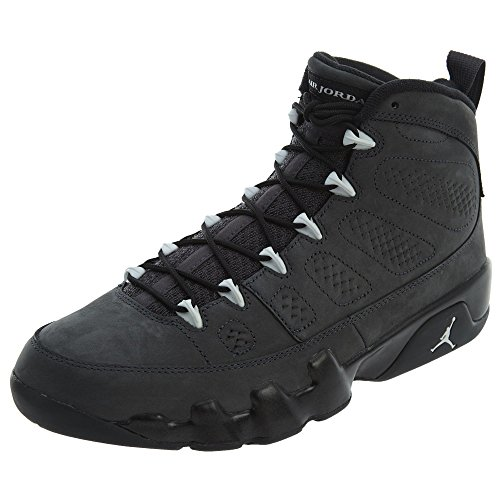 Nike Air Jordan 9 Retro, Zapatillas de Deporte Hombre, Blanco/Negro (Anthracite/White-Black), 45