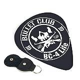 バレット・クラブ Bullet Club ギターピック 3種類の厚さ 6枚セット 初心者用 それぞれ厚さ ピック ウクレレ 音楽ギフト ケース付き