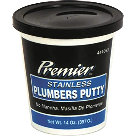 PREMIER 441053 Stainless Plumbers Putty 14 Oz