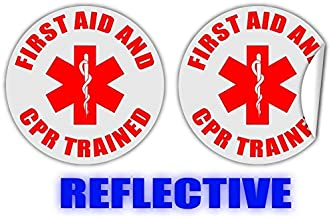 first aid stickers for hard hats