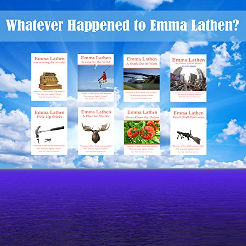 Whatever Happened to Emma Lathen? audiobook cover art
