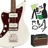 Squier by Fender Classic Vibe '60s Jazzmaster Left-Handed Olympic White 初心者14点セット 【VOXアンプ】 エレキギター ジャズマスター レフトハンド