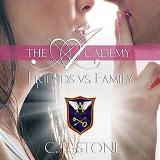 Friends vs. Family audiobook cover art