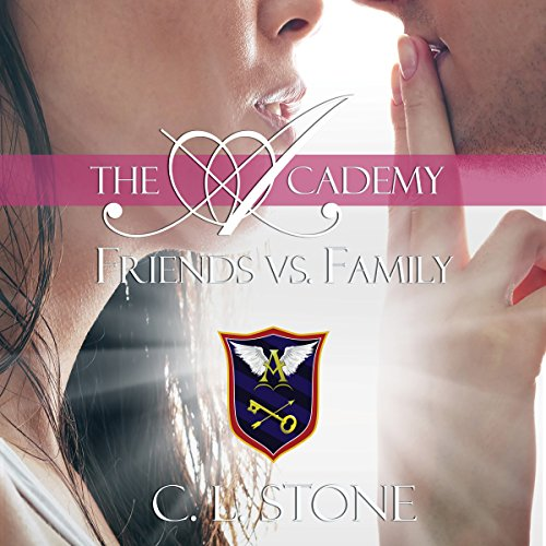 Friends vs. Family audiobook cover art