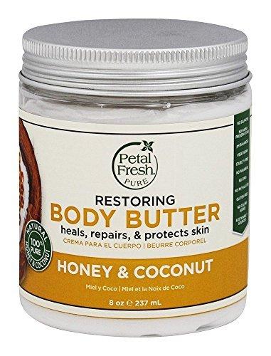 Petal Fresh Body Butter, Honey/Coconut, 8 Ounce by Petal Fresh