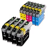 ESMOnline 10 komp. Druckerpatronen (4 Farben) für Brother MFC J4420DW J4620DW J4625DW J5320DW J5620DW J5625DW J5720DW J880DW J680DW J480DW DCP J562DW J4120DW