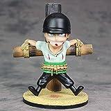 One Piece Debut Roronoa Zoro Anime Character Model 15cm (5.91in) Estatua estática de PVC Decoración ...
