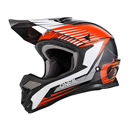 O'NEAL 1 Series Stream Youth 2021 Oneal - Casco infantil para bicicleta de montaña, talla L, 51/52 cm, color negro y naranja