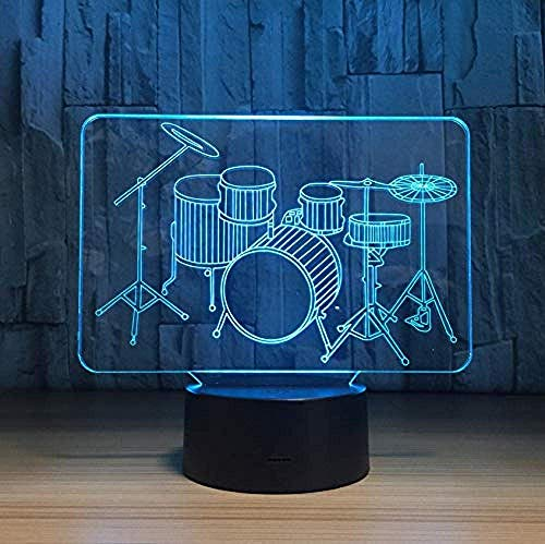 Lámpara Kaitnax 3D de bola de cristal grabada con láser (50 mm) con base LED (Superman)