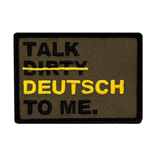 Café Viereck ® Bundeswehr Fun Patch Gestickt mit Klett - 5 cm x 7 cm