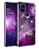 BENTOBEN OnePlus Nord N10 5G Case, Slim Fit Glow in The Dark Soft Flexible Bumper Protective Shockproof Anti Scratch Non-Slip Cute Cases Cover for OnePlus Nord N10 5G (2020) 6.49 Inch, Nebula/Galaxy