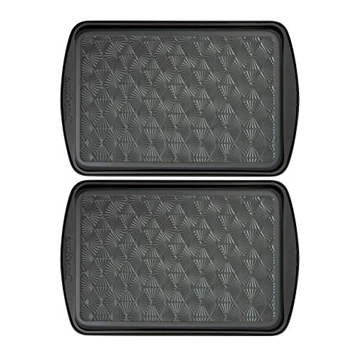 Range Kleen Taste of Home 17×11-Inch Non-Stick Metal Baking Sheet (Twin Pack) Bundle (2 Items)