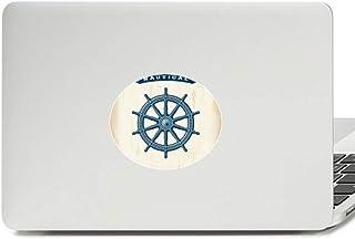 Adesivo de notebook com emblema de vinil militar do exército do oceano do leme Exploração