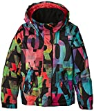 Roxy Jetty - Cazadora para Mujer, Color Mazzy RX Anthracite, tamaño FR : 14 ANS (Taille Fabricant : 14/XL)