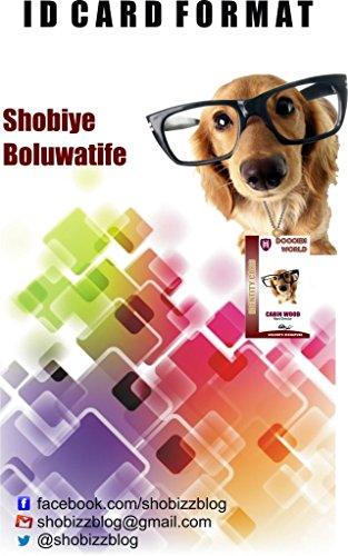 ID CARD FORMAT: SHOBIZZ GRAPHICS (SB/GPH/001 Book 2) (English Edition)