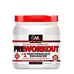 SCIENTIFICALLY ENGINEERED TO CHANGE THE WAY YOU WORKOUT - Advanced Molecular Labs Preworkout is the most advanced scientifically based pre-workout product ever developed, based on the latest cutting-edge performance nutrition research, ingredients an...