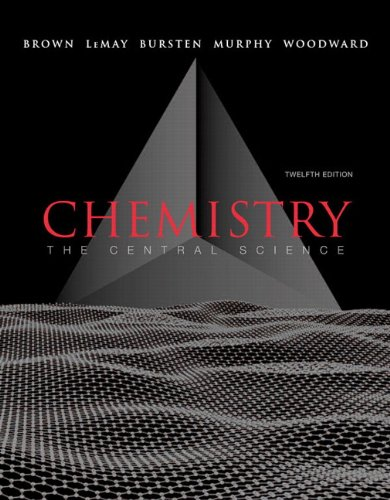 Compare Textbook Prices for Chemistry + Masteringchemistry: The Central Science Student Edition ISBN 9780321741059 by Brown, Theodore L.,LeMay, H. Eugene, Jr.,Bursten, Bruce E.,Murphy, Catherine J.,Woodward, Patrick M.