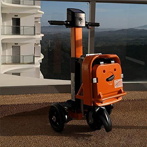 SZ-DDC Folding elektromobiliteit scooter 3 wielen scooter krachtige motor, oranje