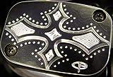 Precision Billet Darkside Upper Master Cylinder Cover - Chrome HD-DS-UBRAKE