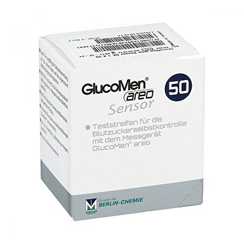 Glucomen Areo Sensor Teststreifen, 50 St