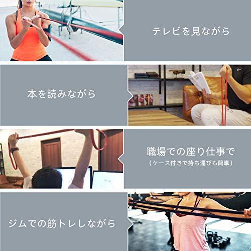 FREETOOフィットネスチューブエクササイズバンドトレーニングチューブレギュラータイプ機器男女兼用筋力トレーニングリフティング筋肉レッド15ポンドから35ポンドまでFREETOOフィットネスチューブエクササイズバンドトレーニングチューブ天然ゴム肉体改造機器男女兼用筋力トレーニングリンフティグ筋肉2本セット負荷7~30kg