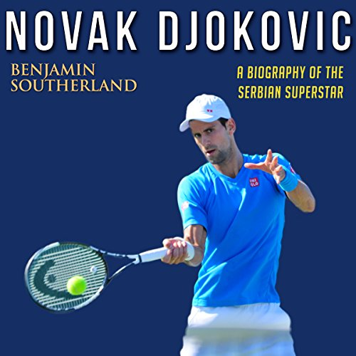 Novak Djokovic audiobook cover art
