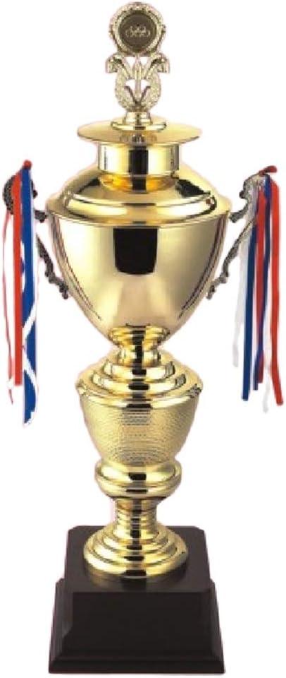 amazon com golden trophy champions league trophy large commemorative trophy football rugby indoor decoration uefa champions league nba color gold size 852222cm home kitchen golden trophy champions league trophy