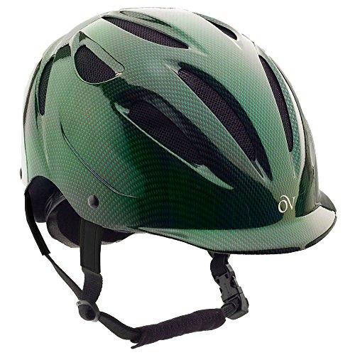 Ovation Schutz-Helm X Amethyst L/XL Mehrfarbig - dunkelgrün