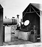 Reflecting Telescope C1910 Nenglish Reflecting Telescope at an Unidentified Tropical Location Photographed C1910