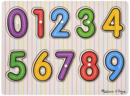 Melissa&Doug 96013 (Wooden) -Peg Puzzles, Multi