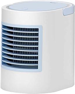 Bärbar luftkylare fläkt 3 i 1 USB Mini luftkonditionering, luftfuktare, med nattlampa, skrivbords kylfläkt för kontor hemm...