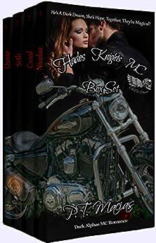 Hades Knights MC Box Set: He's A Dark Dream, She's Hope, Together, They're Magical! (Dark Alphas MC Romance Book 1~ 4) (NorCAl) by [P.T. Macias]