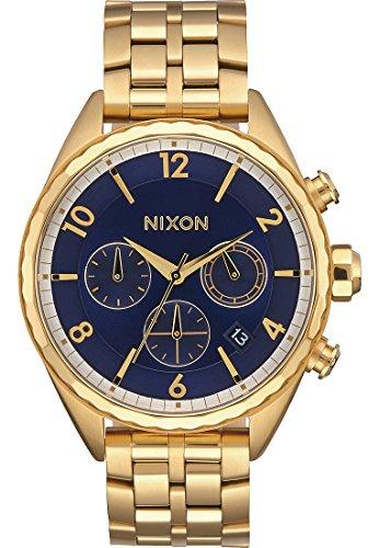 Nixon Reloj Cronógrafo para Mujer de Cuarzo con Correa en Acero Inoxidable A993-2216-00