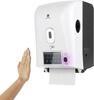 Goolsky Automatic Sensor Roll Paper Towel Dispenser Wall Mount Paper Holder Auto Cut Jumbo Roll Tissue Dispenser for Hospi...