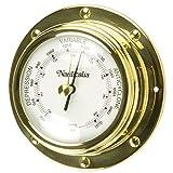 Nauticalia - Barómetro de latón (10 cm, 10 cm)