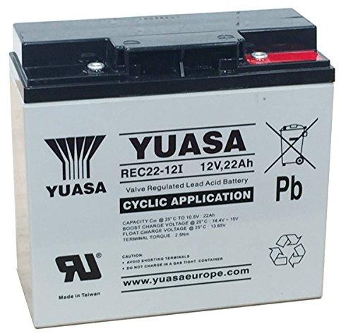 Yuasa YPC22-12 Golftrolley-Batterie (22 Ah)