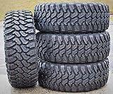 Set of 4 (FOUR) Centennial Dirt Commander M/T Mud-Terrain Radial Tires-33X12.50R17 LT 114Q LRD 8-Ply