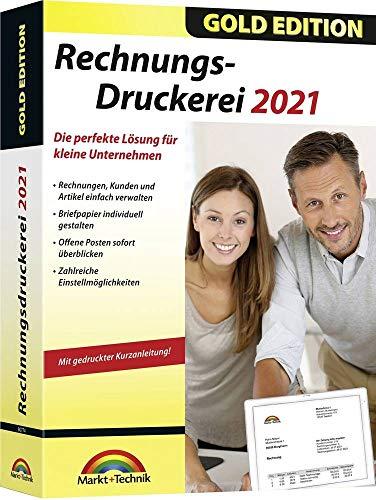 Markt + Technik Rechnungsdruckerei 2021 Gold Edition