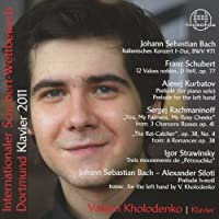Int Schubert Competition 2011 by J.S Bach