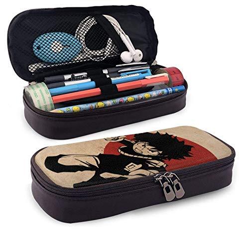My Hero Academia - Estuche para lápices con múltiples compartimentos, impermeable, plegable, retro, Estuche para lápices espacioso