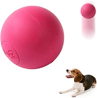 EETOYS Solid Rubber Ball for Aggressive Chewers – Dog Ball Durable Chew Toy for Outdoor Agility Training High Bounce 100% Non Toxic Life Time Replacement Guarantee
