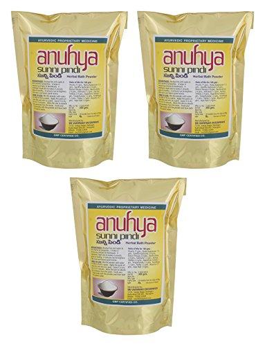 Anuhya Herbal Bath Powders, 900 Grams (Pack of 3)
