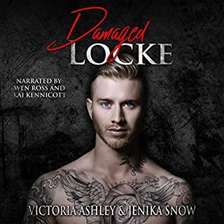 Damaged Locke audiobook cover art