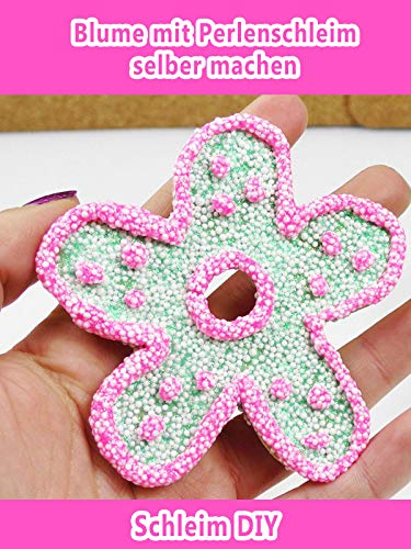 Clip: Blume mit Perlenschleim selber machen - Schleim DIY